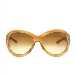 Woman designer glasses